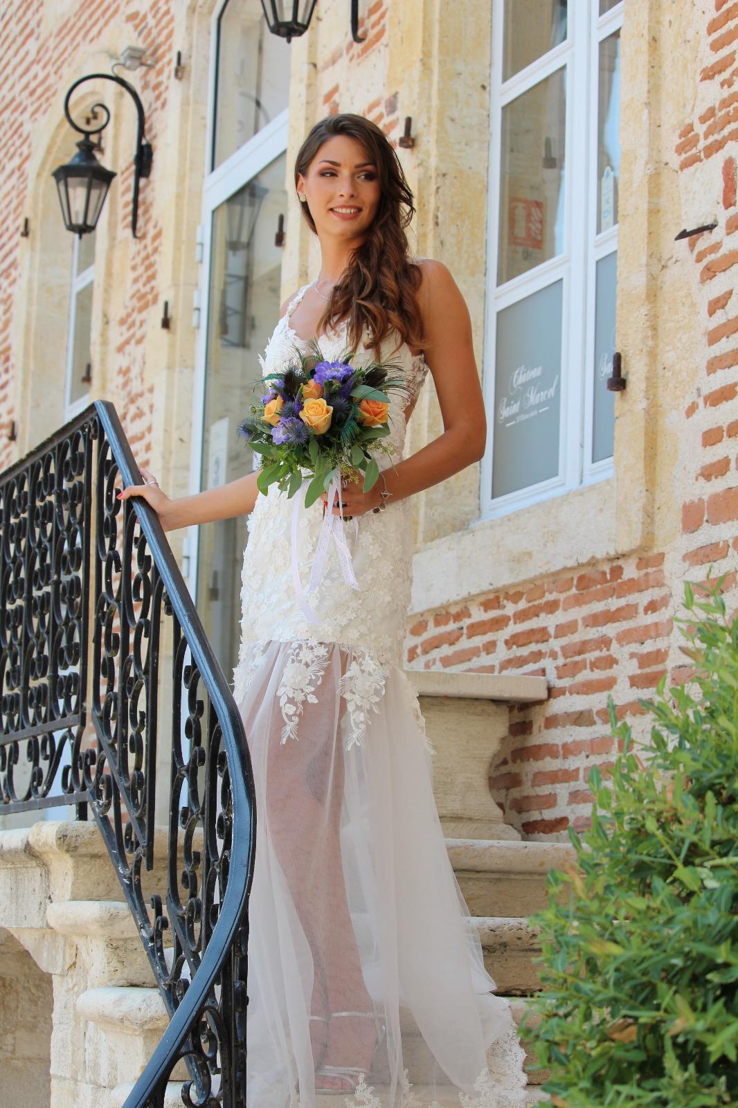Robe de mariée de la collection Chic à la Française Mademoiselle Angélique